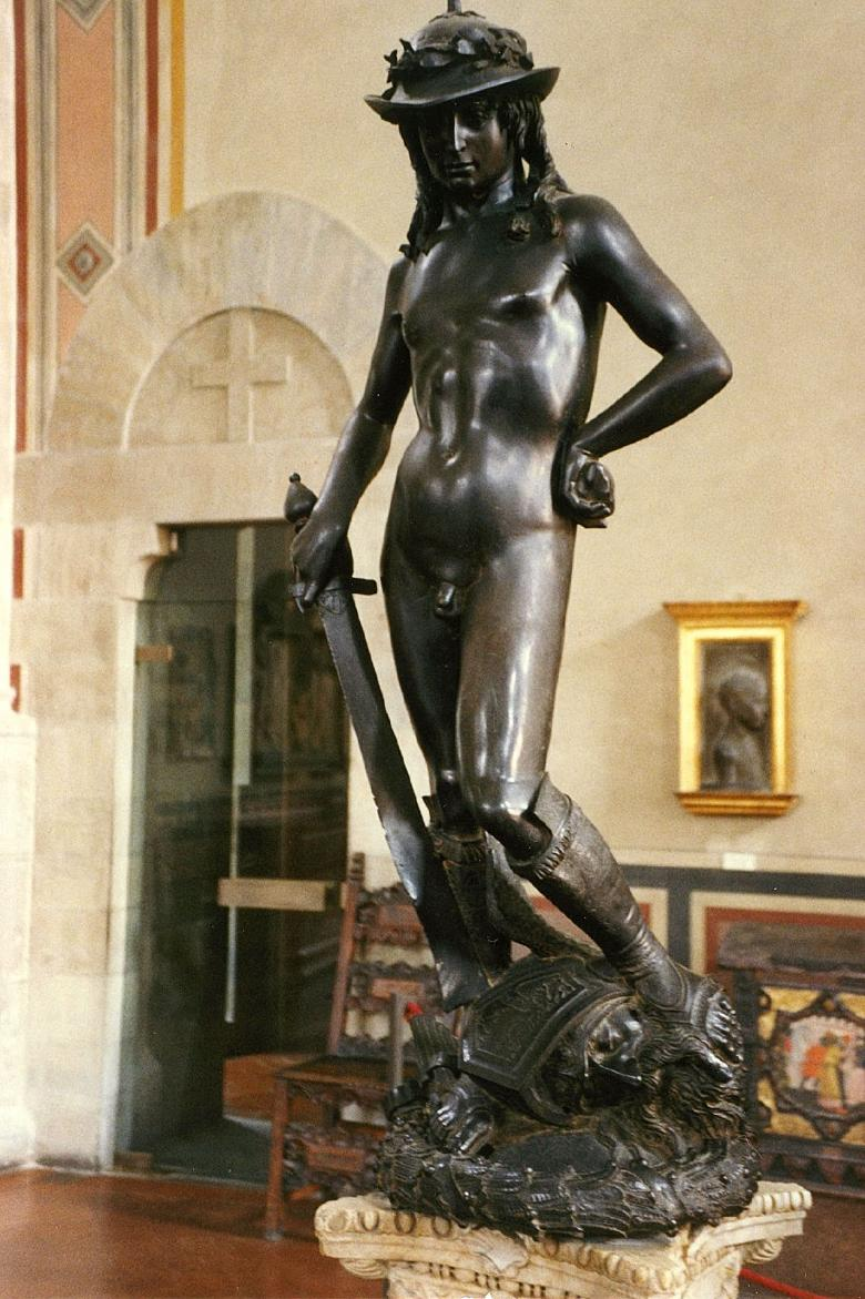 The David by Donatello