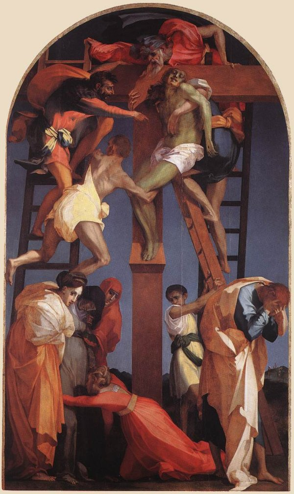 Rosso Fiorentino's Deposition from the Cross, Volterra