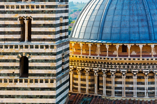 Details of the Siena Cathedral