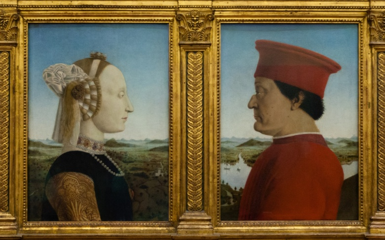 Double Portrait of the Duke and Duchess of Urbino