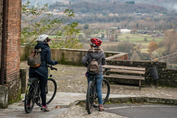 Exploring the Luigiana area by e-bike