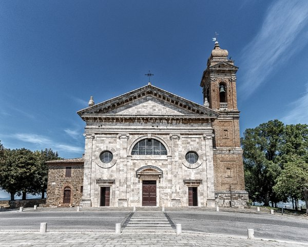 Church of Madonna del Soccorso in Montalcino