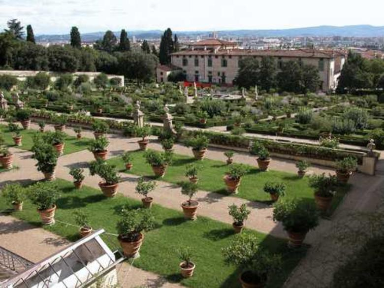 The Garden of the Villa di Castello