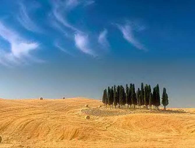 Val d'Orcia scenery
