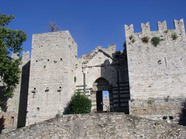 Das Castello dell'Imperatore in Prato