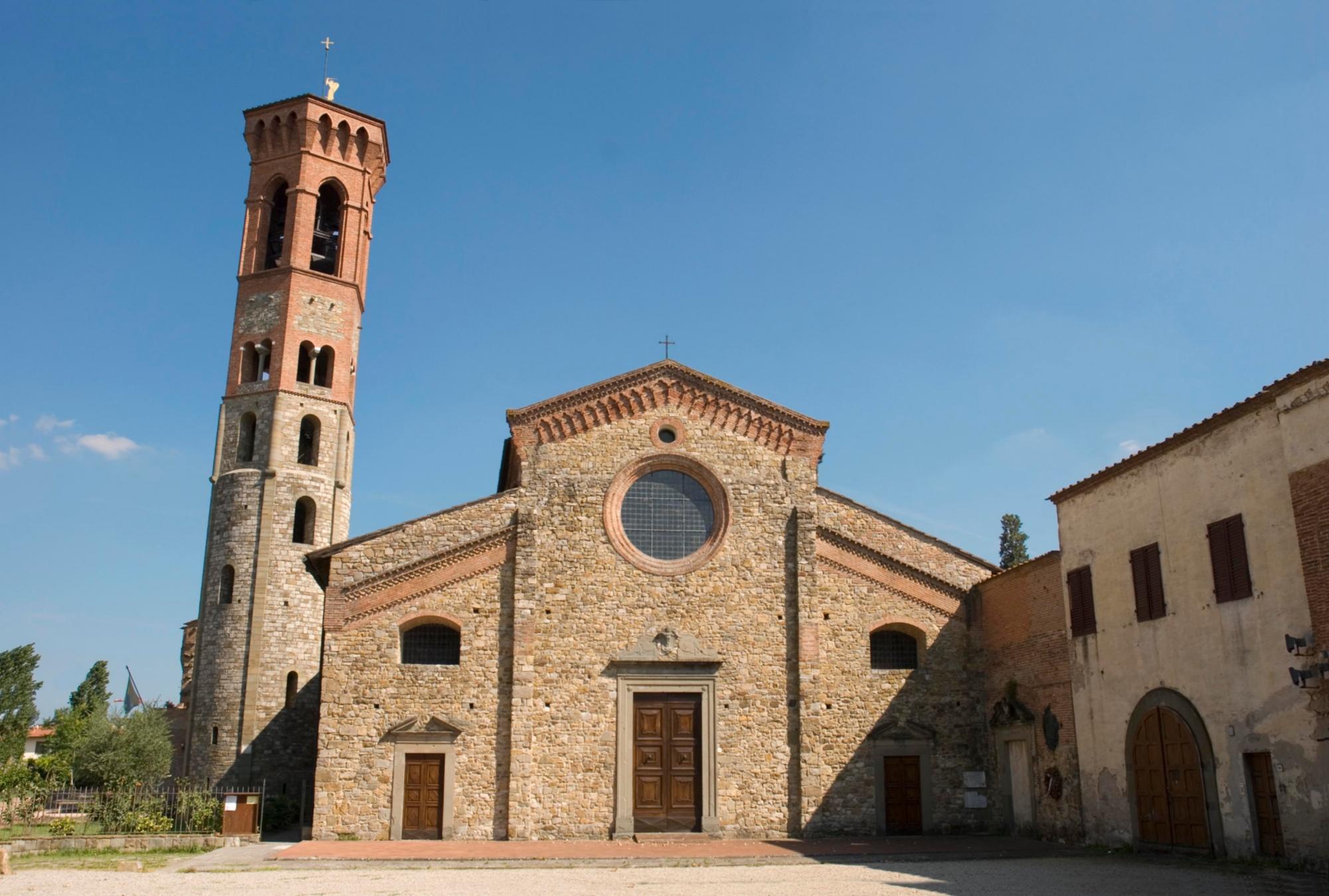 Abadía San Salvatore y San Lorenzo en Settimo   Visit Tuscany