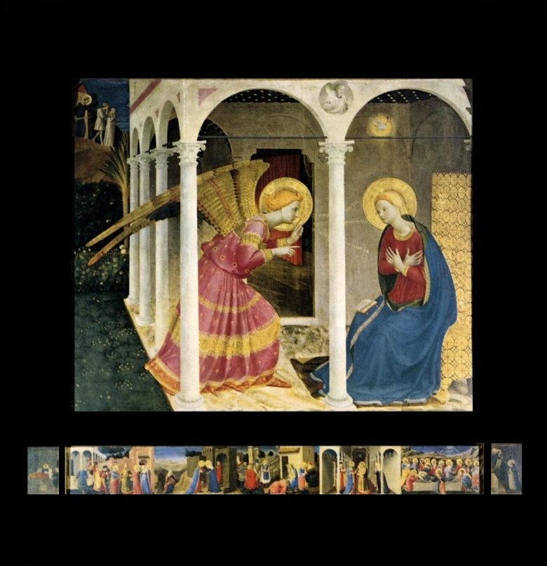 The Cortona Annunciation by Fra Angelico