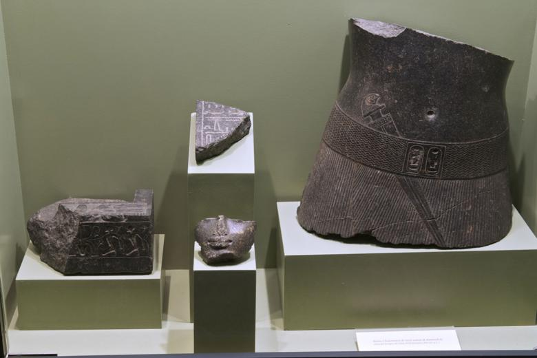 Some of the objects inside the museum