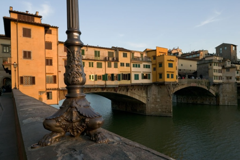 Ponte Vecchio at sundown