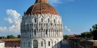 Panorama dalle mura di Pisa