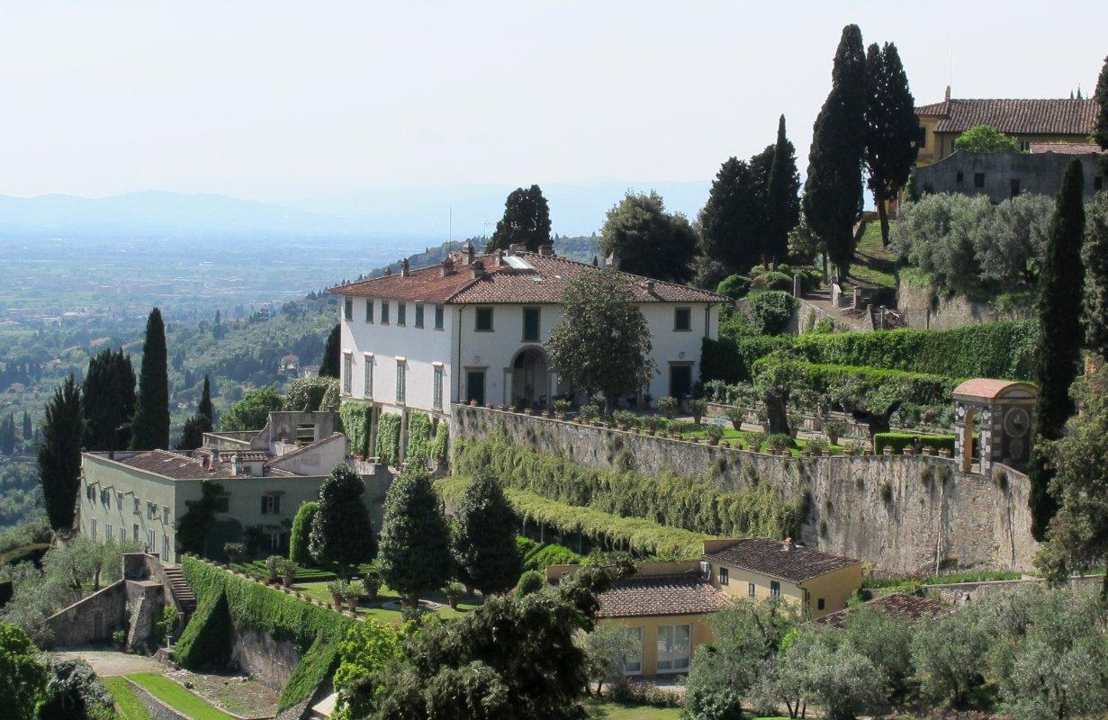 Villa Medici villa medici in fiesole visit tuscany