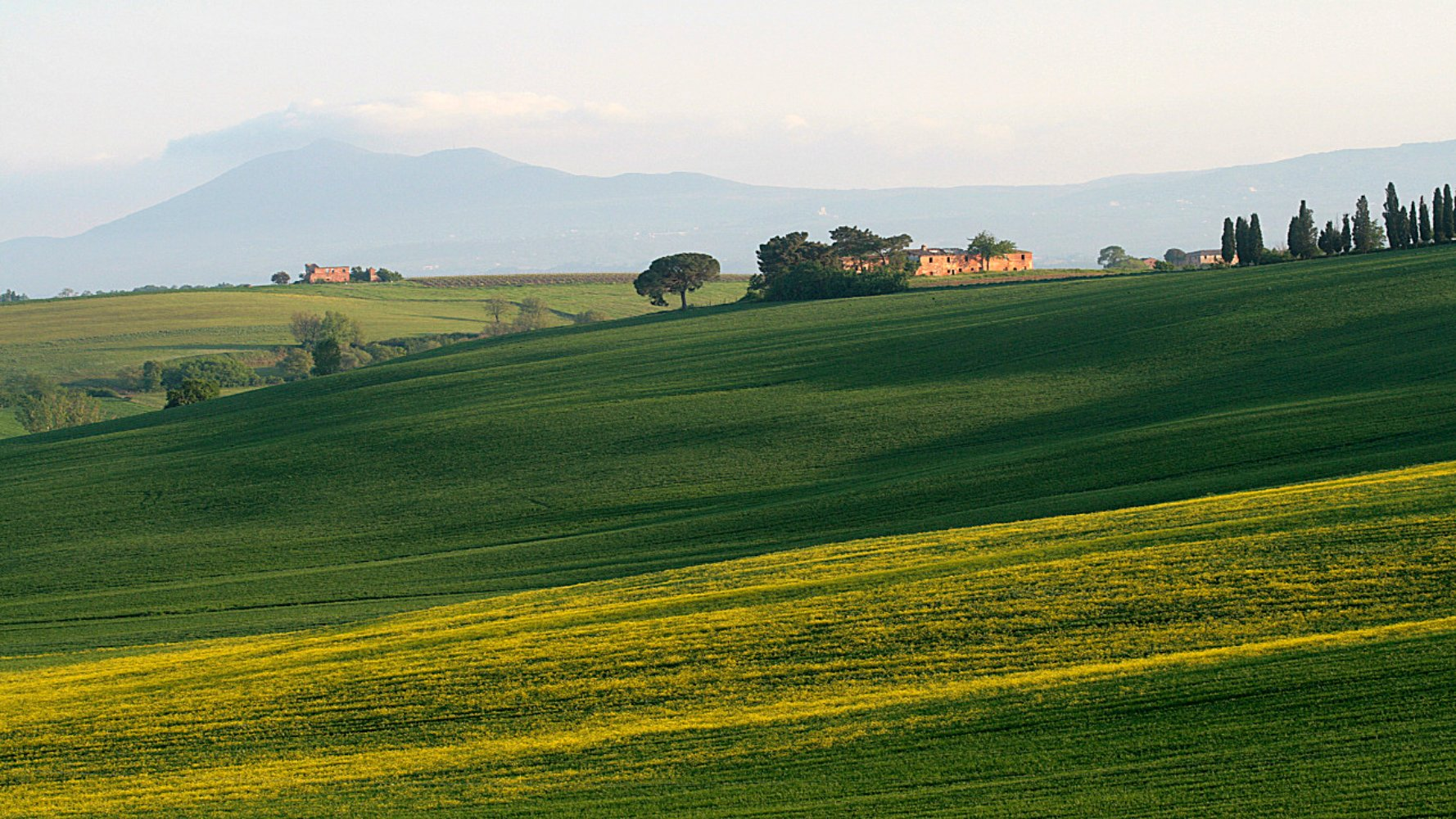 Valiano in Montepulciano, Valdichiana countryside