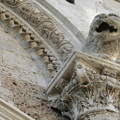 Detail of San Cerbone Cathedral, Massa Marittima