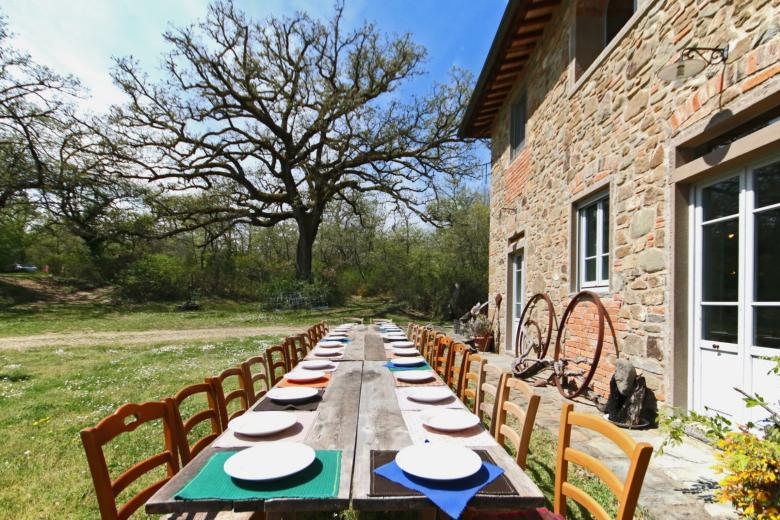 Sunday lunch in Tuscany