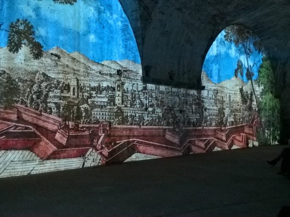 Francigena Entry Point in Lucca – Video mapping