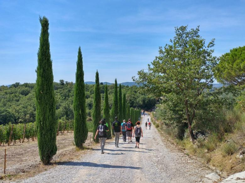 gaiole-hiking