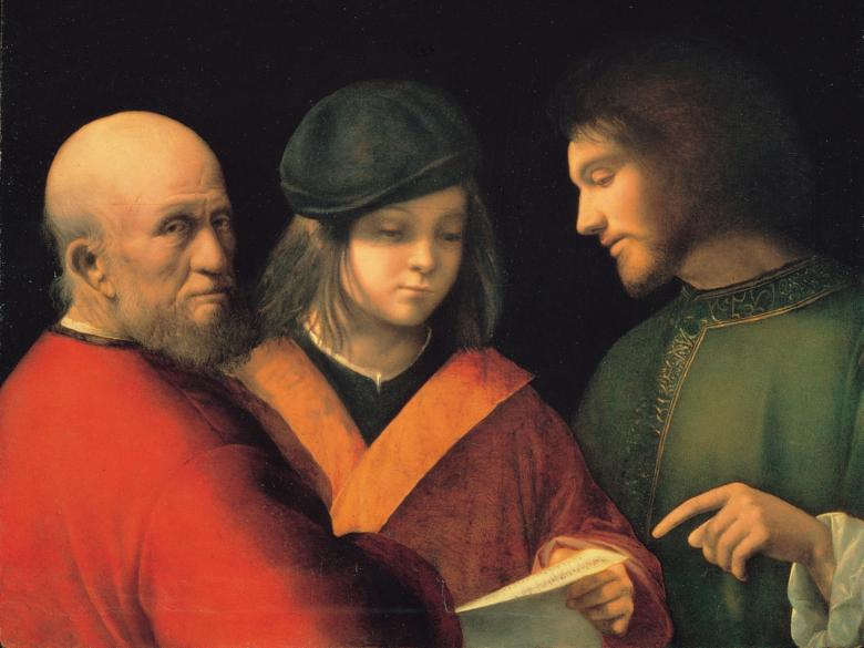 The Three Ages by Giorgione