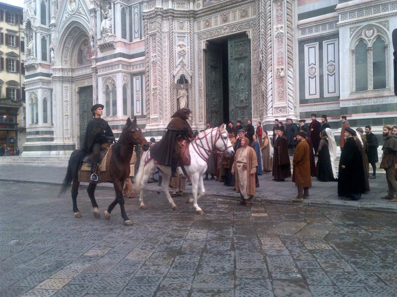 La fiction I Medici a Firenze