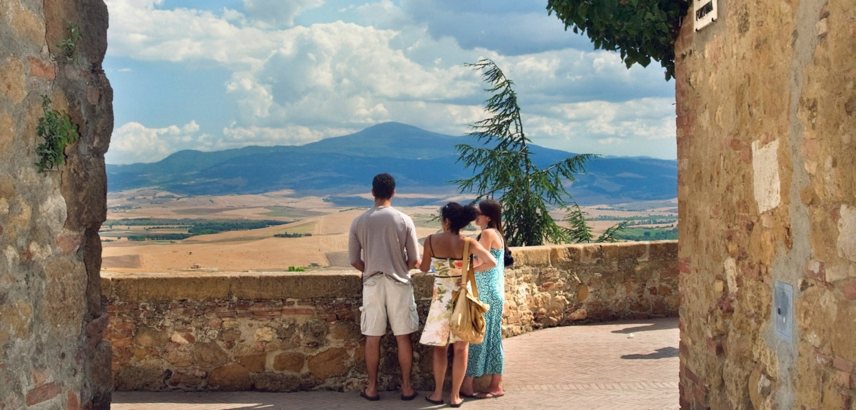 Panoramic Views In Tuscany Attractions