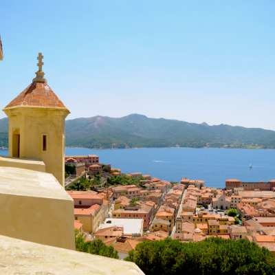 View of Portoferraio, Elba Island