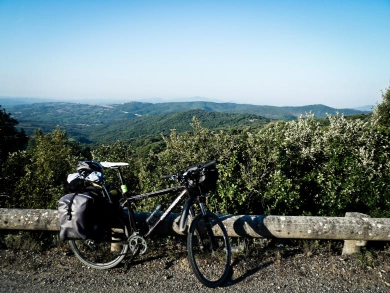 By bike in the Maremma