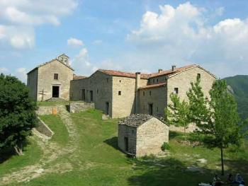 Gamogna hermitage in Marradi