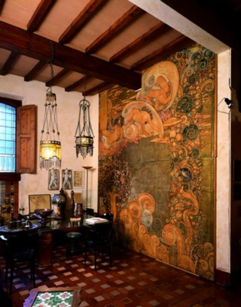 Villino Chini, interno liberty