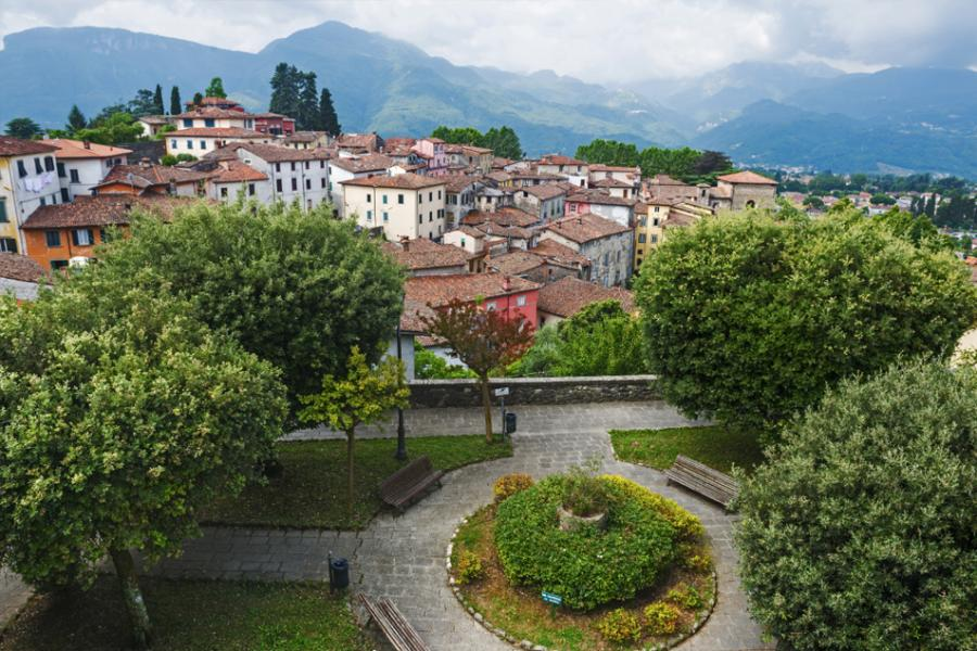 Vista de Barga