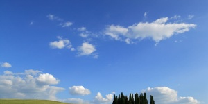 View of Crete senesi