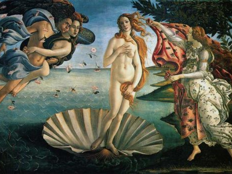 Birth of Venus, Botticelli