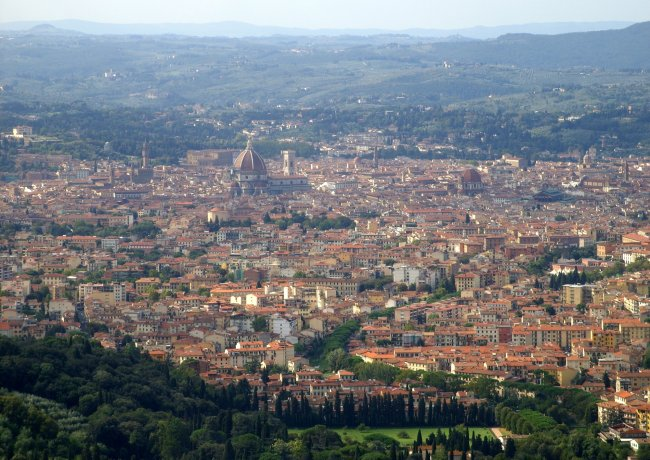 Florence as seen from Fiesole