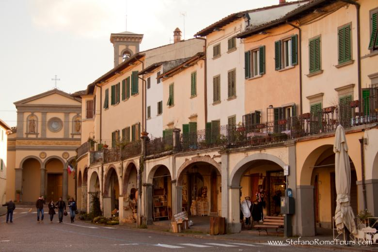 Plaza, Greve in Chianti