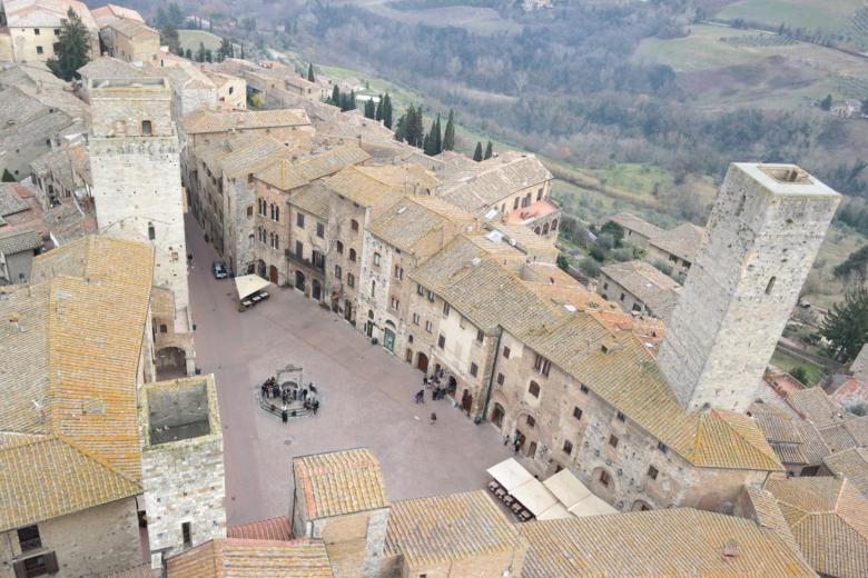 View from the Torre Grossa in San Gimignano