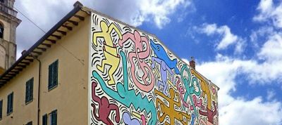 Tuttomondo by Keith Haring (Pisa)