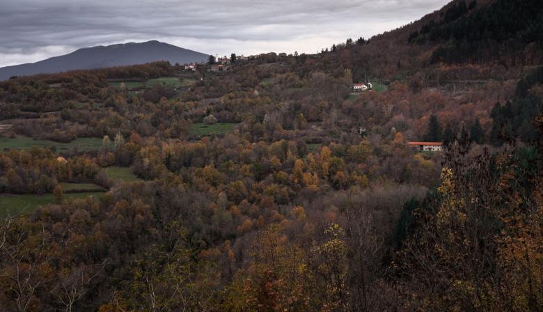 The Garfagnana area