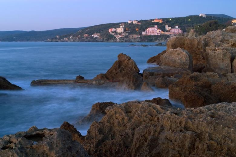 The seaside in Castiglioncello