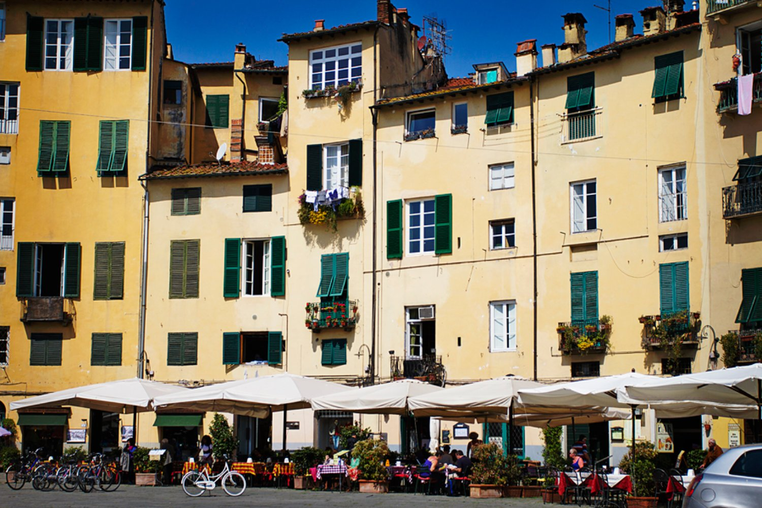 Lucca town