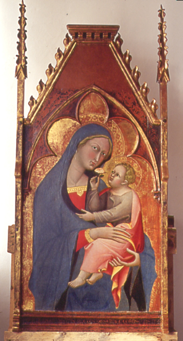 Madonna of the Rose by Bartolo di Fredi