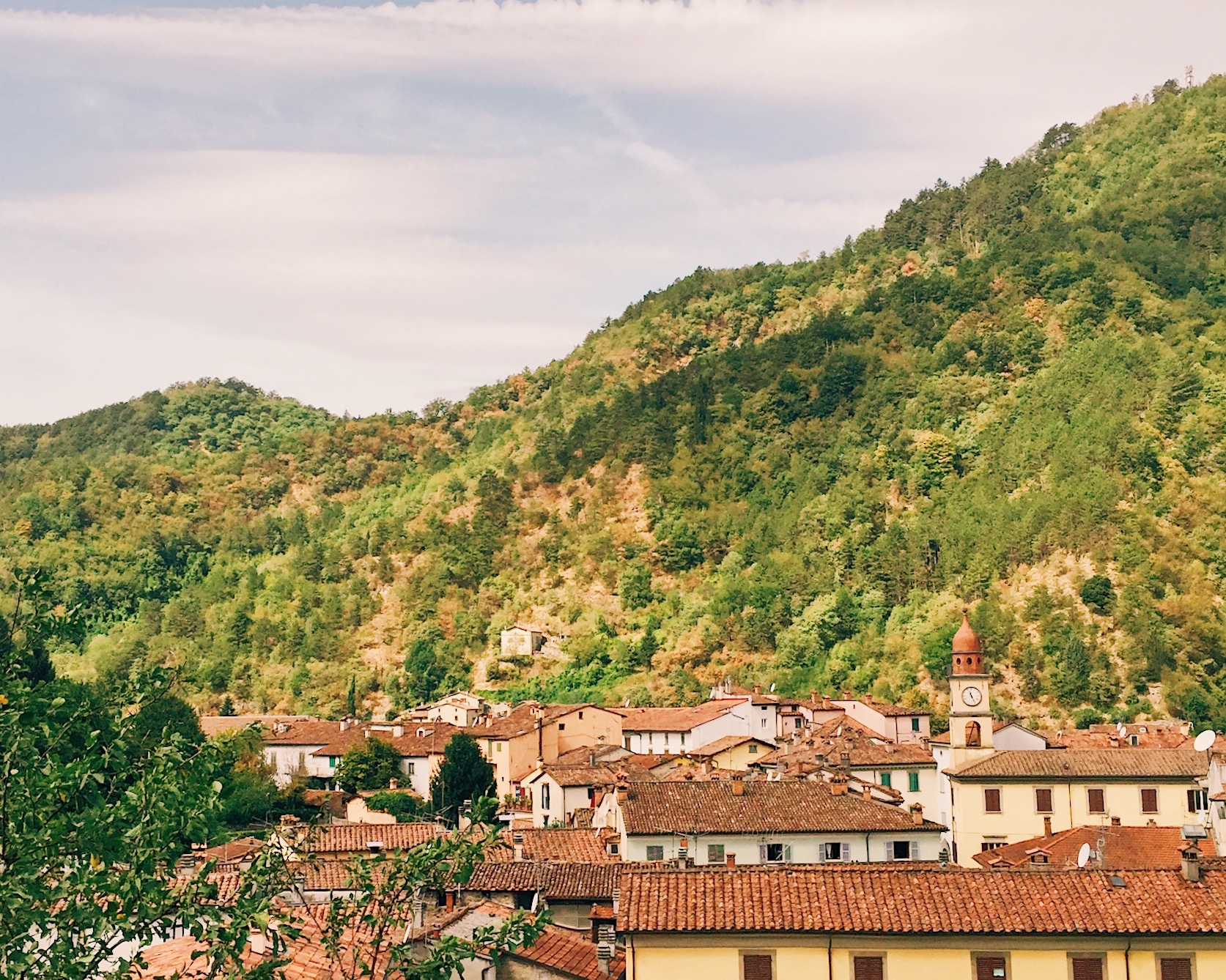 miscela verde per le vacanze in montagna