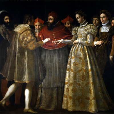 The Wedding of Catherine de Medici and Henry, Duke of Orléans