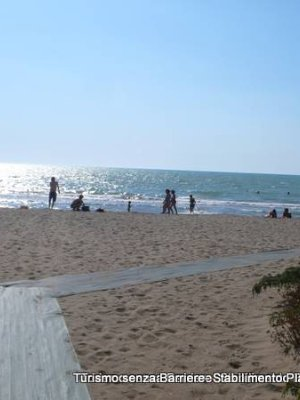 Giannella: spiagga accessibile