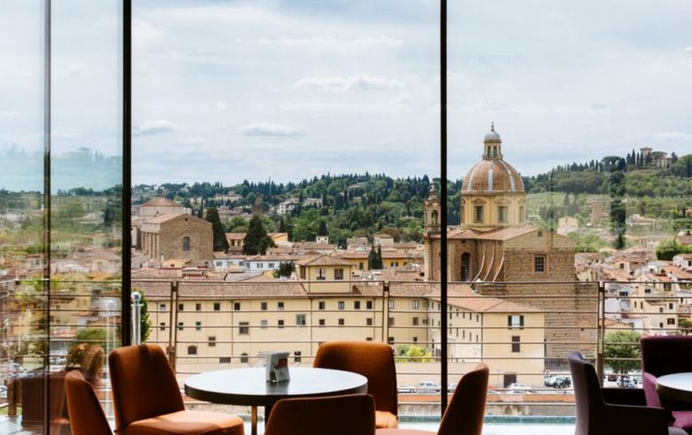 A glimpse of the view from SE·STO on Arno, Westin Excelsior