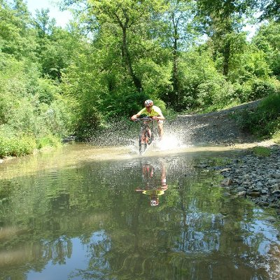 Da Montaione a Poggio all'Aglione in mountain bike