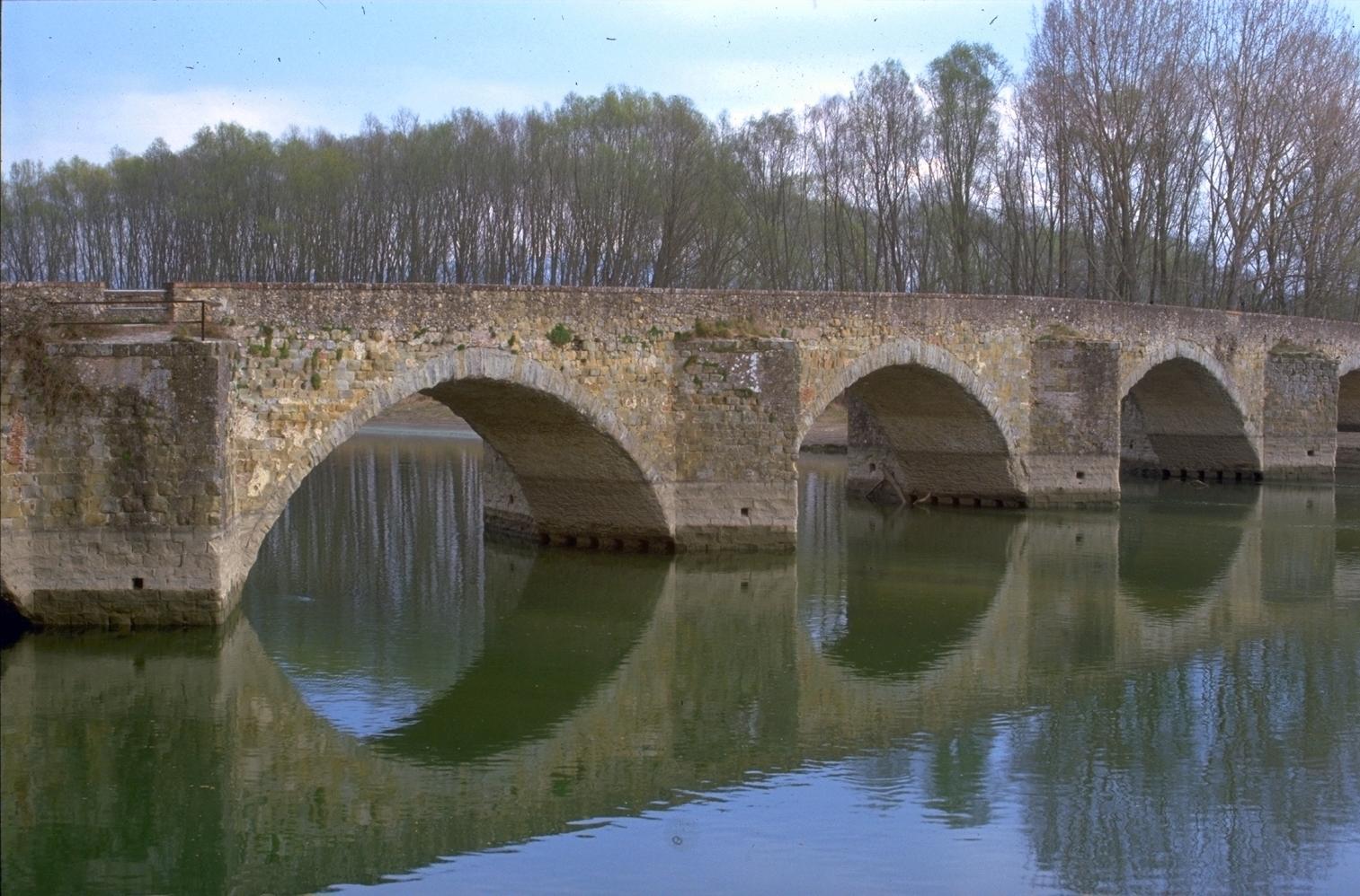 La strada dei sette ponti arte e storia visit tuscany for Disegni di ponte anteriore