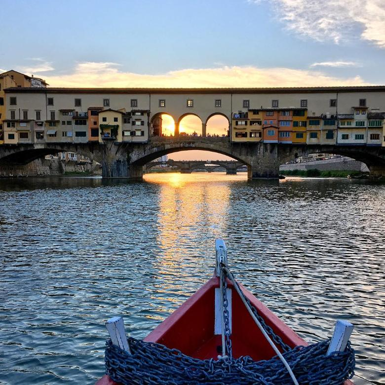 Ponte Vecchio as seen from the Renaioli's point of view
