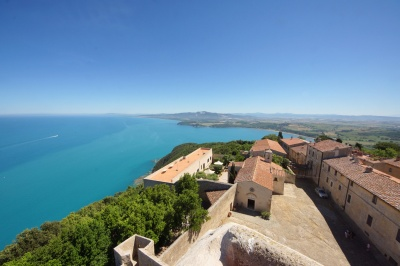 The view from the tower of Populonia