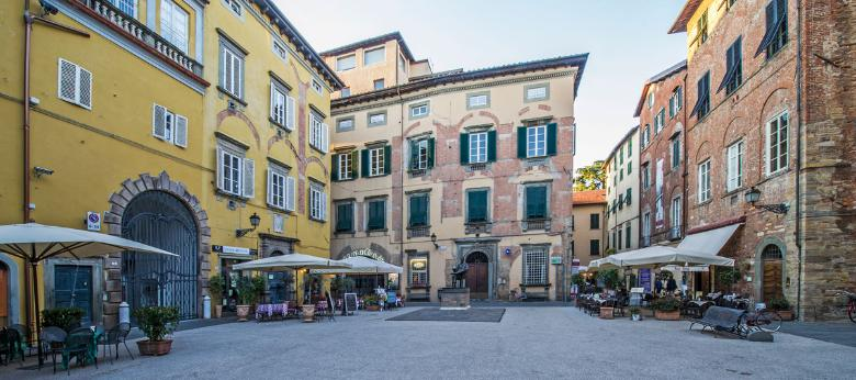 Puccini museum in Lucca