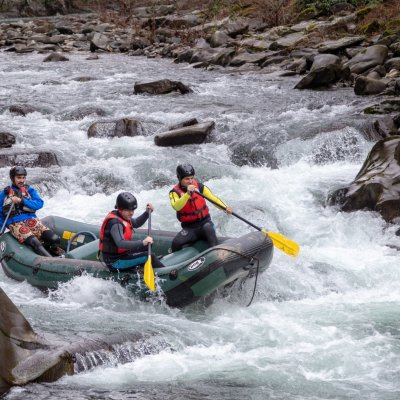 Rafting in der Garfagnana
