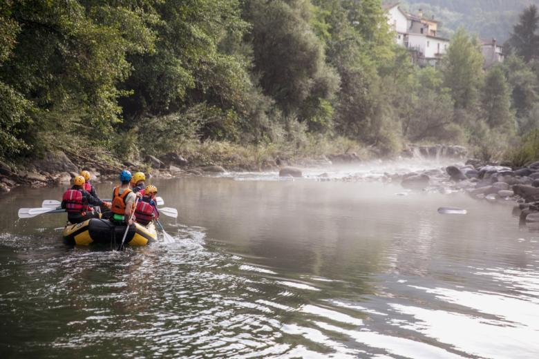 Rafting on the Lima