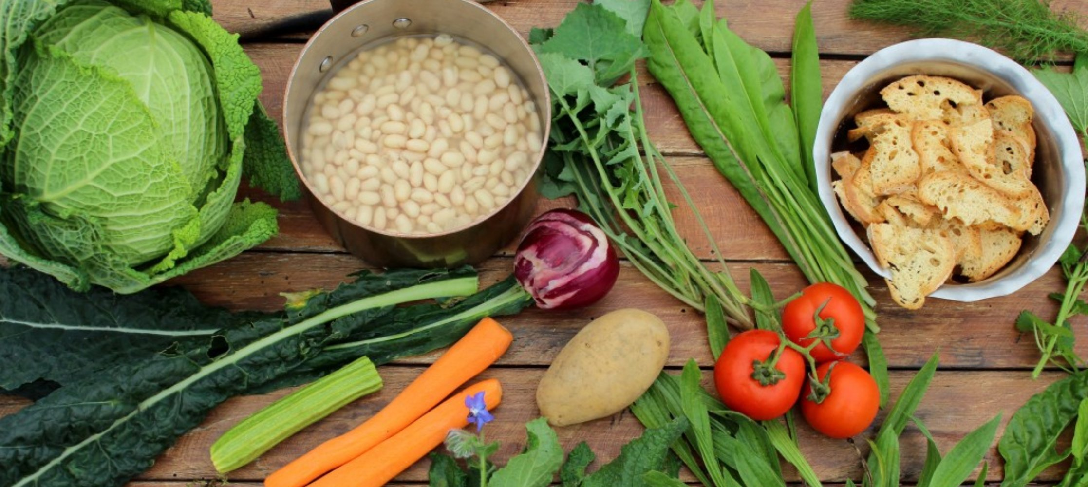 Ribollita ingredients